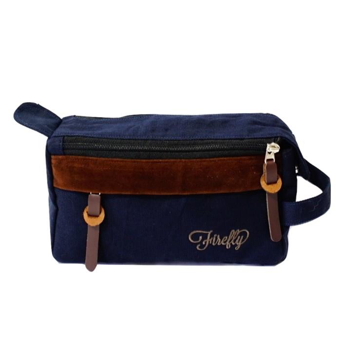 harga Tas pouch dopp kit firefly bag parker navy Tokopedia.com