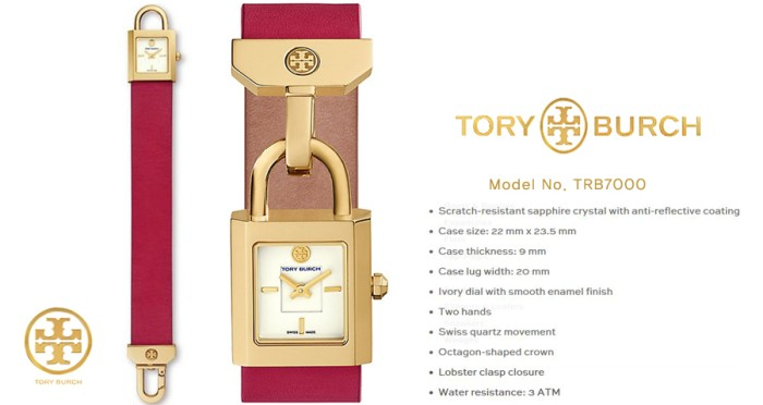 f85507525720 Jual JAM TORY BURCH TB7000 WOMEN ORIGINAL ASLI - toko glove muay ...
