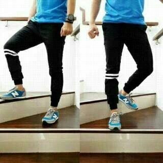 Celana panjang jogger / jogger strip / joggerpants / jogger pants