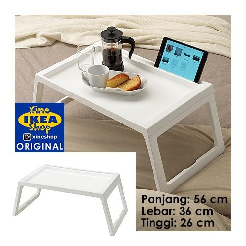 Ikea klipsk baki lipat tempat tidur putih