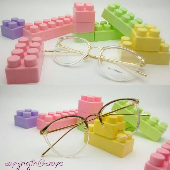 Frame kacamata korea linda farrow casey ( transparan ) 5629802784