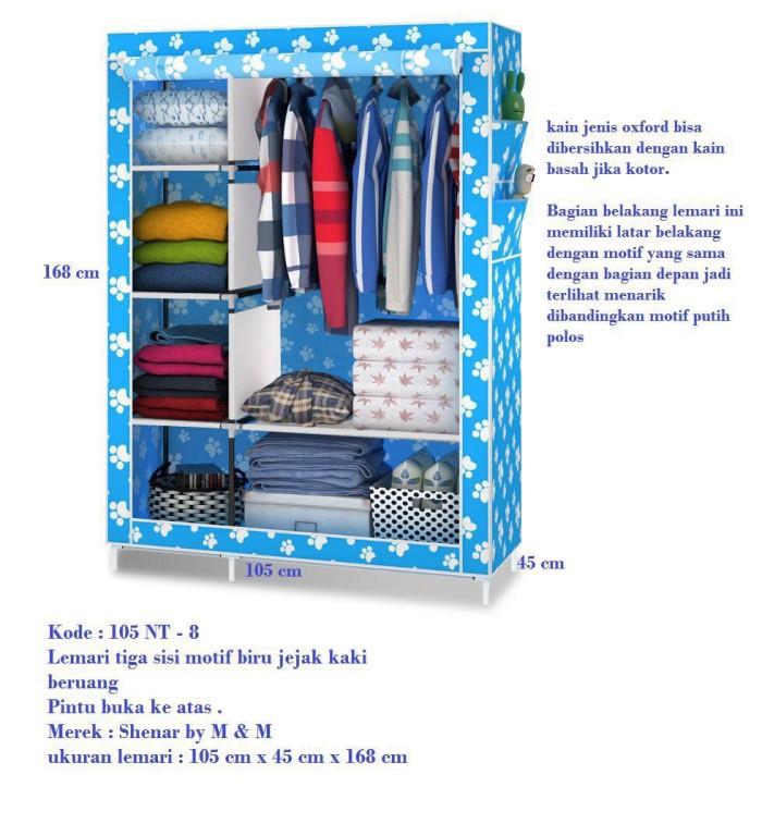 harga Lemari pakaian 3 sisi / lemari boneka / lemari multifungsi Tokopedia.com