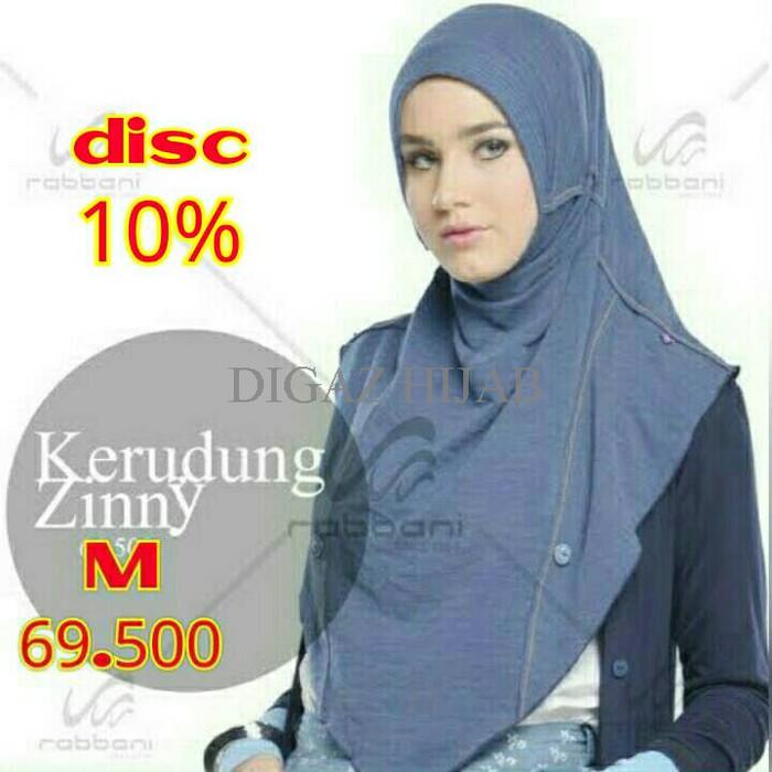 Jual Murah Diskon Jilbab Kerudung Rabbani Terbaru Zinny Kota Bandung Digaz Hijab Tokopedia