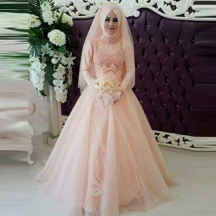 Jual Baju Pengantin Berhijab Wedding Dress Gaun Pengantin Cantik