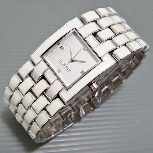 Jam Tangan Wanita / Cewek Esprit Mat Silver