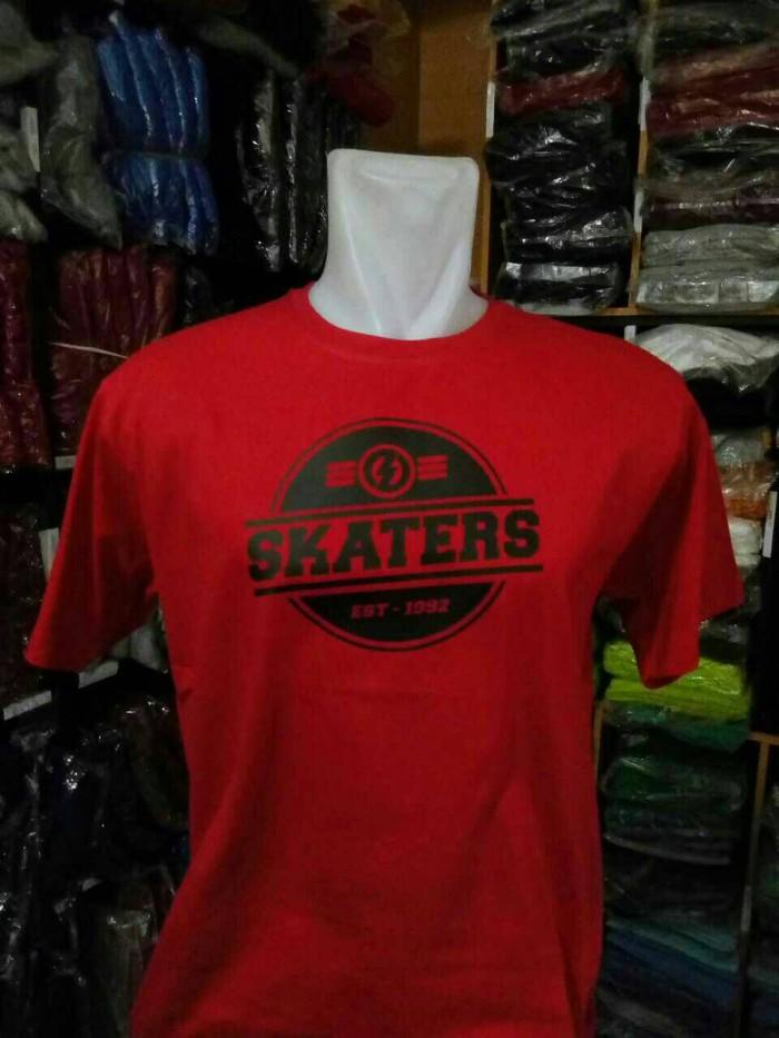 harga T-shirt skaters/kaos skaters murah Tokopedia.com