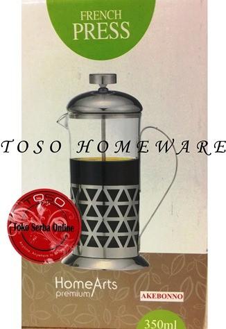 harga Akebonno tea & coffee plunger/ french press 350ml kopi teh press Tokopedia.com