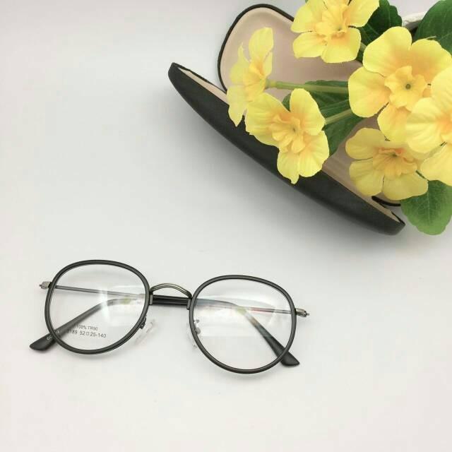 Jual Paket Kacamata Modern Vintage + Lensa Minus Antiradiasi ... bba75eab3a