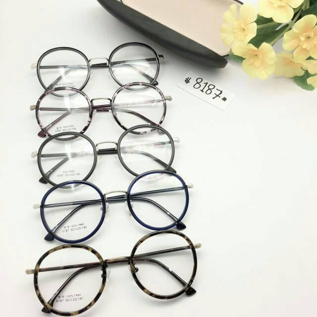 ... Paket Frame Kacamata Modern Vintage + Lensa Minus Antiradiasi -  Blanja.com 59d9bfeac7
