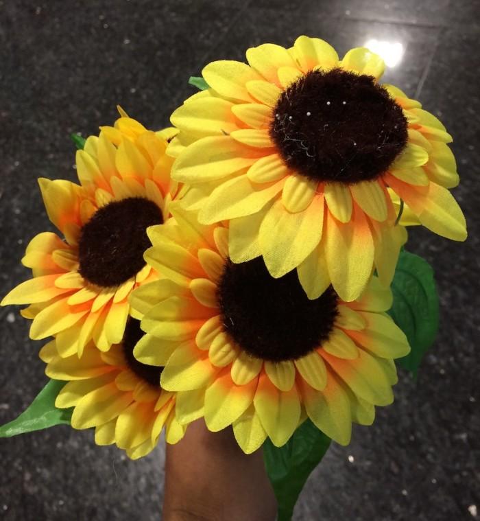 harga Bunga matahari artificial k-6 impor Tokopedia.com