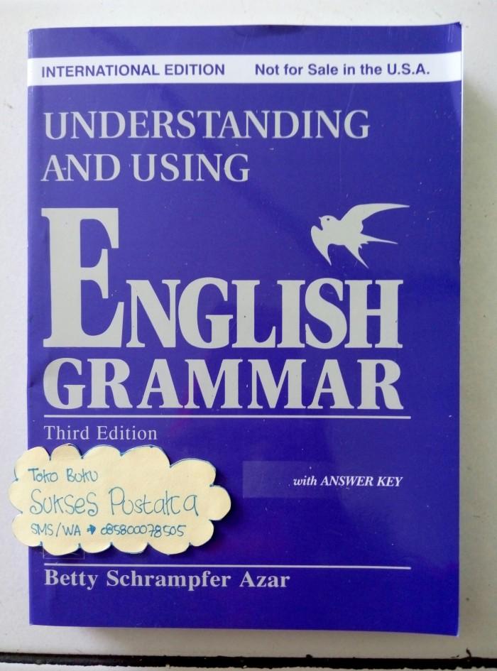 harga Understanding and using english grammar - betty schrampfer azar Tokopedia.com