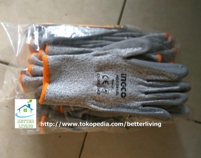 harga Sarung tangan pengaman anti potong / cut resistance ingco Tokopedia.com