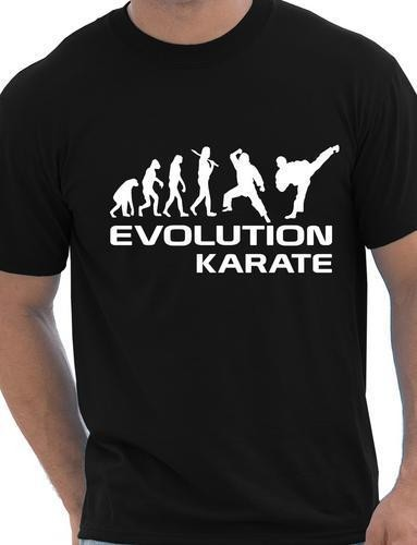 harga Tshirt / kaos / baju karate / evolution karate / best quality Tokopedia.com