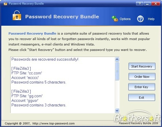 password recovery bundle 2016
