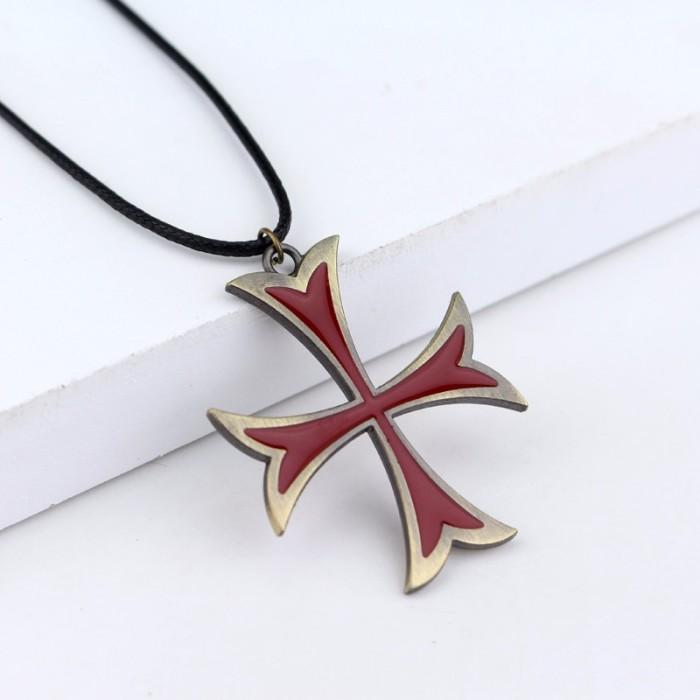 Jual Kalung Templar Salib Assassin S Creed Necklace Assasin Asassin Kreed Kota Depok Susan Shop Tokopedia