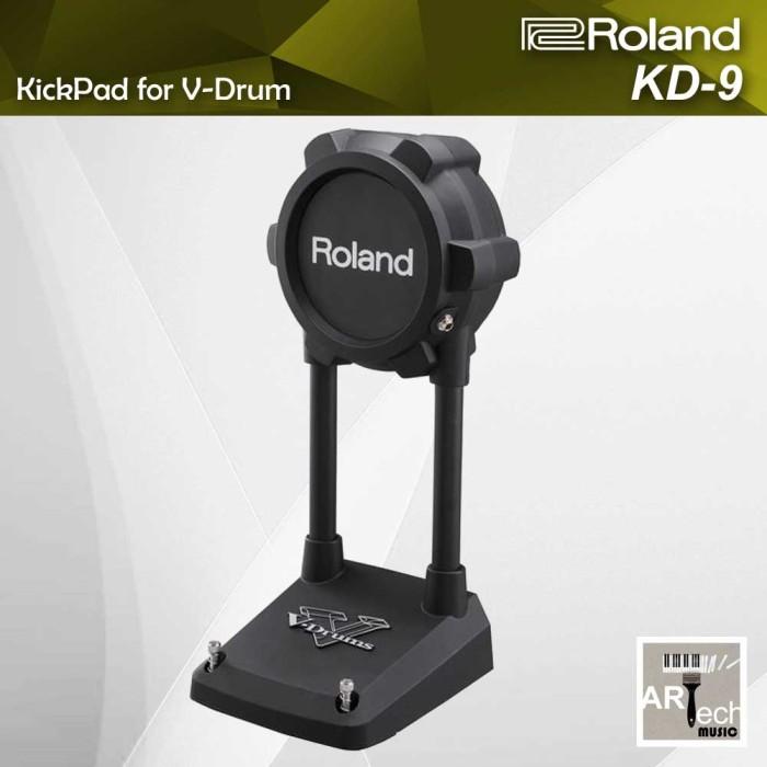 harga Roland vdrum kickpad kd9 / kd 9 utk drum elektrik / kick pad electric Tokopedia.com