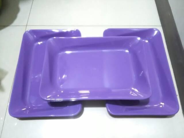 harga 3pcs nampan plastik hosewa ps012 ungu Tokopedia.com