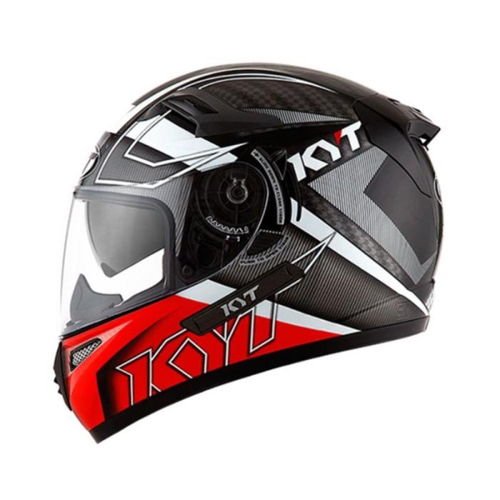 KYT K2 Rider Spotlight Fluo Helm Full Face