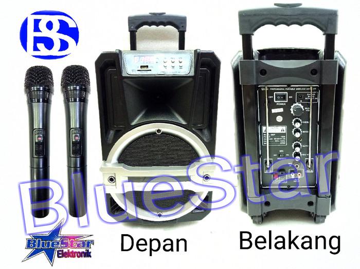 harga Speaker portable amplifier wireless linkmaster q223 (8 inch) Tokopedia.com