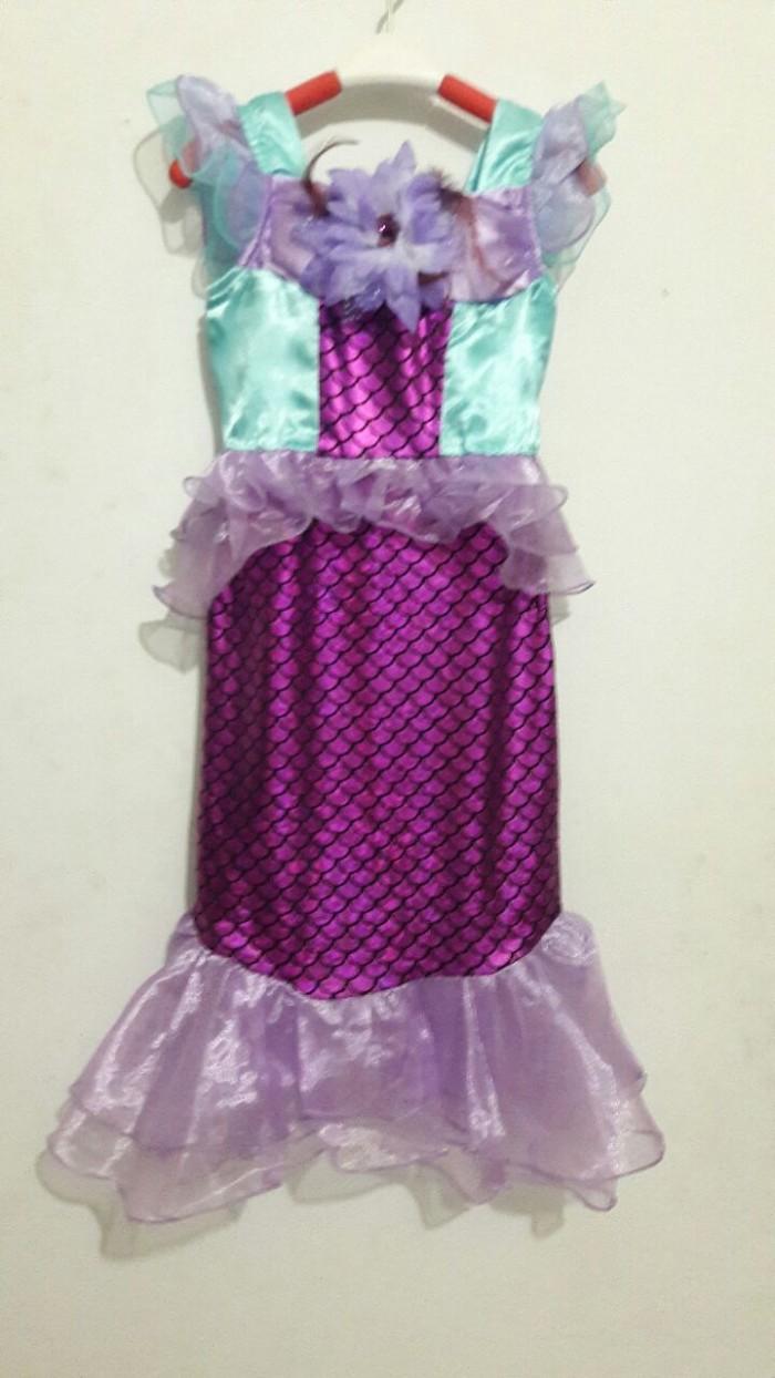 harga Baju dress kostum anak mermaid putri duyung ungu Tokopedia.com