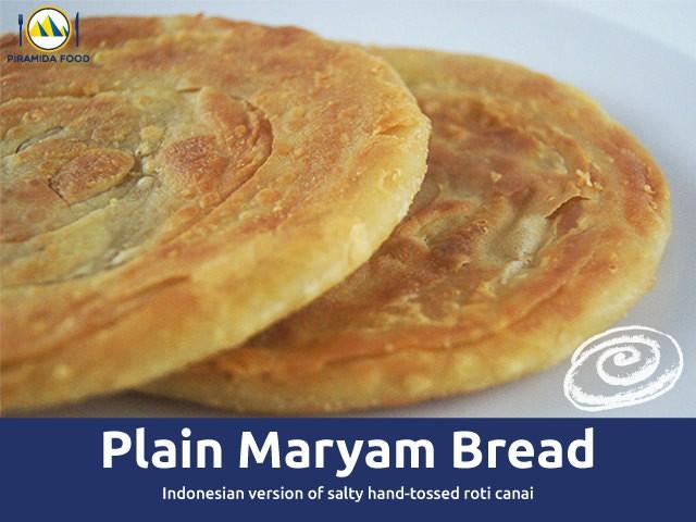 harga Roti maryam plain / roti cane canai plain tawar - piramida food Tokopedia.com
