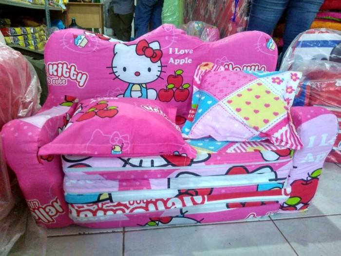 harga Sofa bed anak hello kitty pink Tokopedia.com