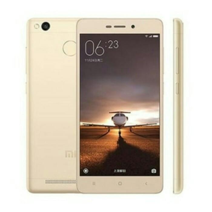 Xiaomi redmi 3s gold 2/16 - garansi 1th
