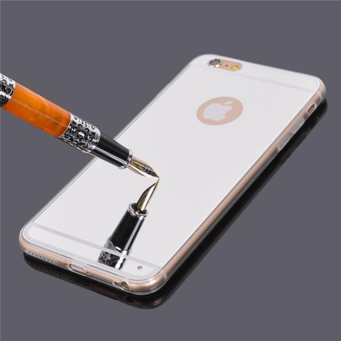reputable site 435e2 8e369 Jual iBuy Iphone 6 & 6s Ultra Thin SILVER mirror Jelly Case Limited - Kota  Semarang - Shila Hadi | Tokopedia