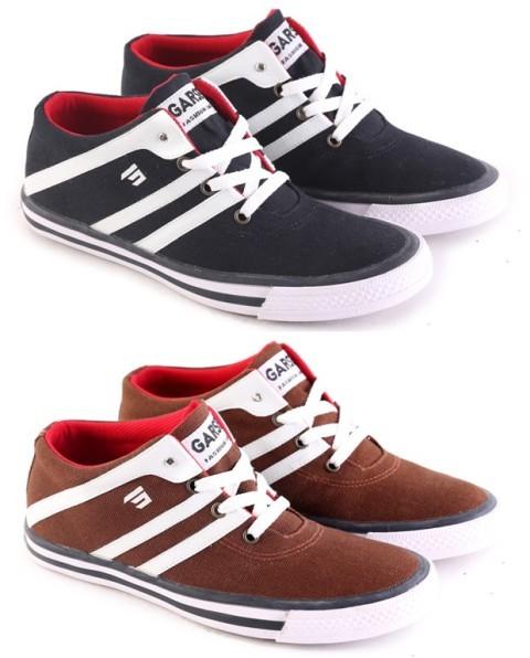 harga Sepatu sneacker garsel/ sepatu casual cowok termurah/sepatu pria distr Tokopedia.com