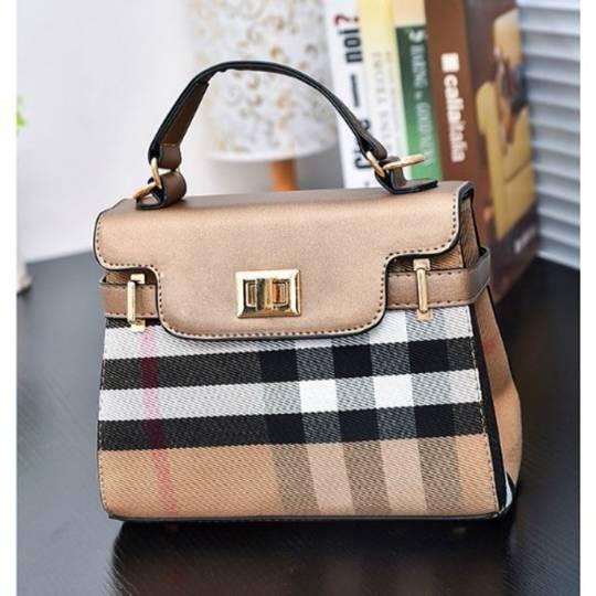 Tas Fashion Import Replika Handbag Burberry Kelly Murah Terbaru Cantik
