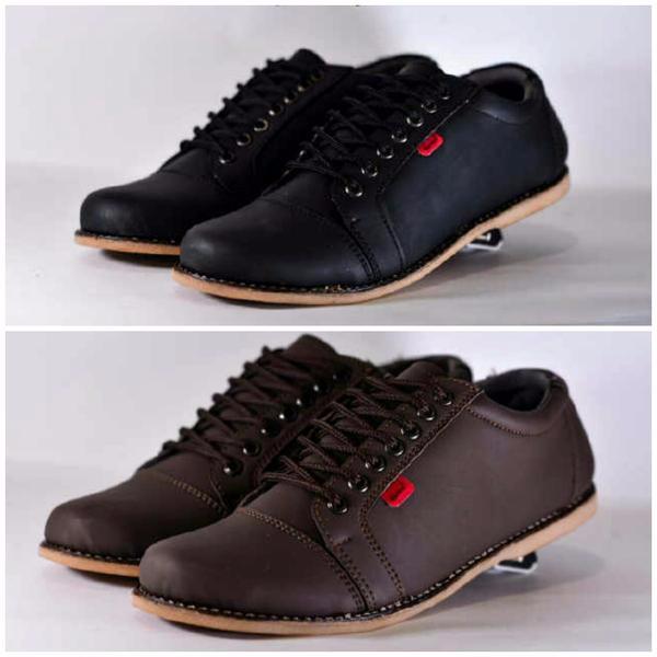 Jual Sepatu Casual   Sepatu Kickers Semi Boots Pria   Sepatu Kerja ... 4b6e2ae404