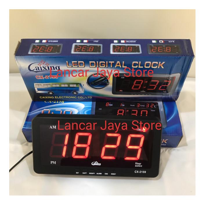 Foto Produk Jam Dinding Digital Caixing CX-2159 (RED) dari Lancar Jaya Store
