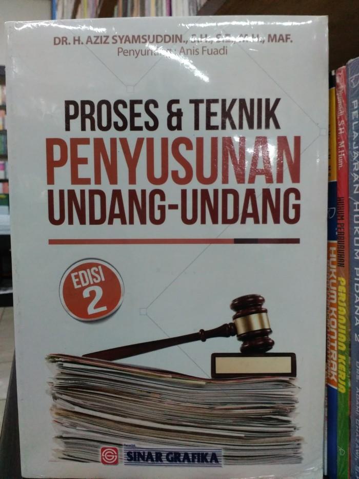 harga Buku hukum proses dan teknik penyusunan undang undang edisi 2 ori pg Tokopedia.com