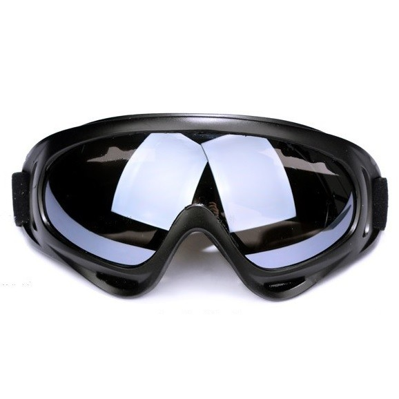 harga Kacamata ski motor anti static shock for ski sport - black a403 Tokopedia.com