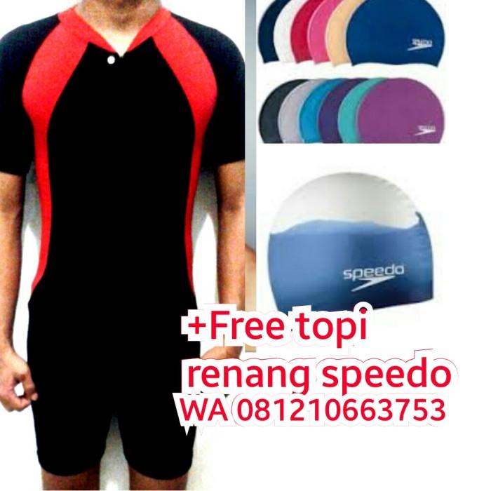 harga Free topi renang/baju renanga/pria/wanita/laki/perempuan/diving/dewasa Tokopedia.com