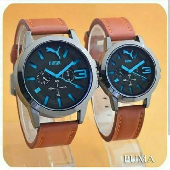 harga Jam tangan couple puma / jtr 722 biru Tokopedia.com