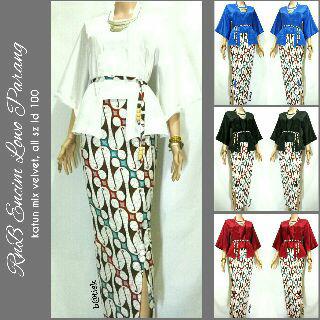 Jual Baju Batik Solo Rnb Batik Encim Lowo Parang  Ayusari Batik