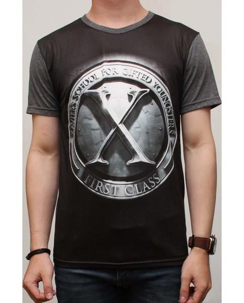 Baju fashion cowok laki pria abg Kaos Printing Thailand X First Class