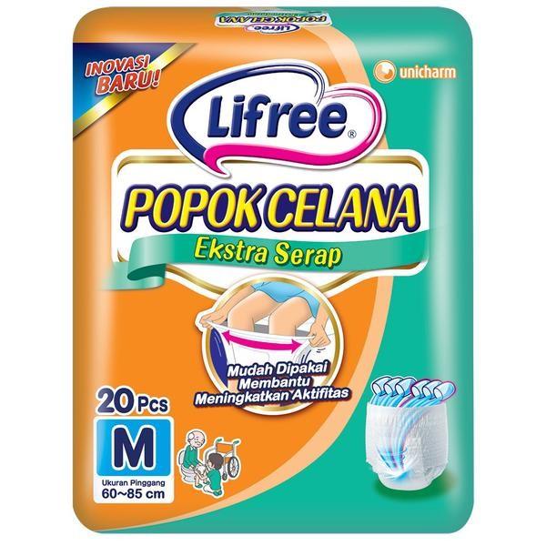 harga Lifree popok celana ekstra serap m 20 Tokopedia.com