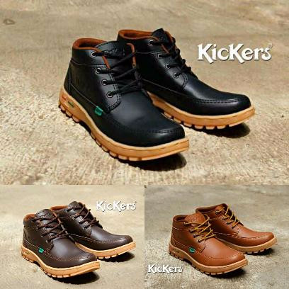 Jual Sepatu Boot   Sepatu Kickers Casual Pria Semi Boots Untuk Kerja ... 37dd315591