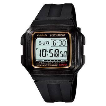 harga Jam tangan casio original f-201wa-9a jam anti air digital unisex black Tokopedia.com