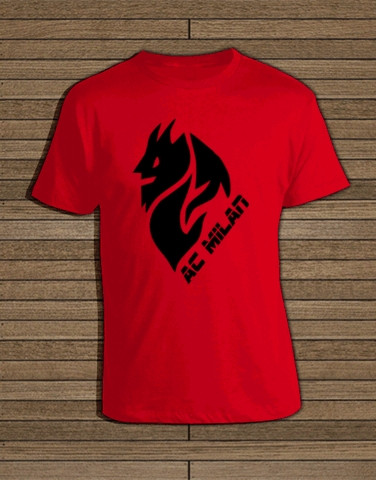 Jual Kaos Tshirt Ac Milan Il Diavolo Kota Depok Top Outfit Tokopedia