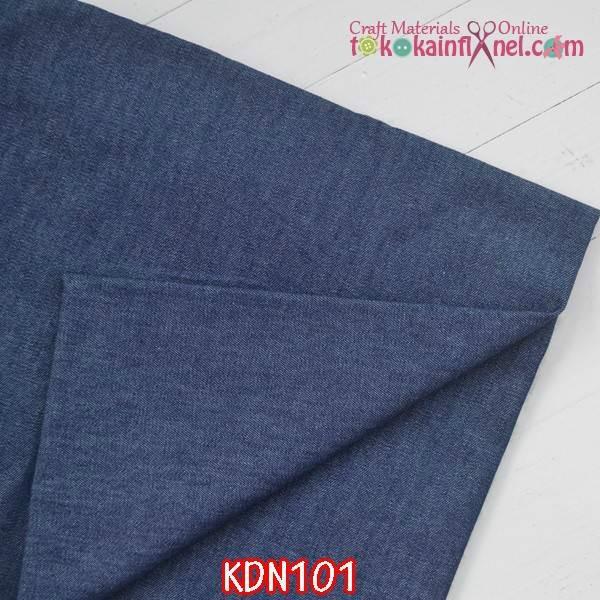 harga Kdn101 kain denim biru tua uk 1m x lebar kain Tokopedia.com