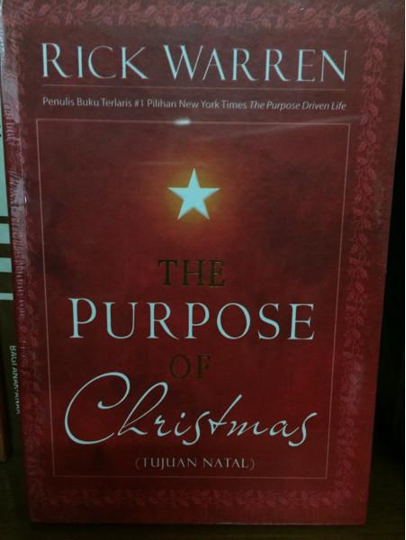 Foto Produk The Purpose of Christmas - Rick Warren dari CV Pionir Jaya