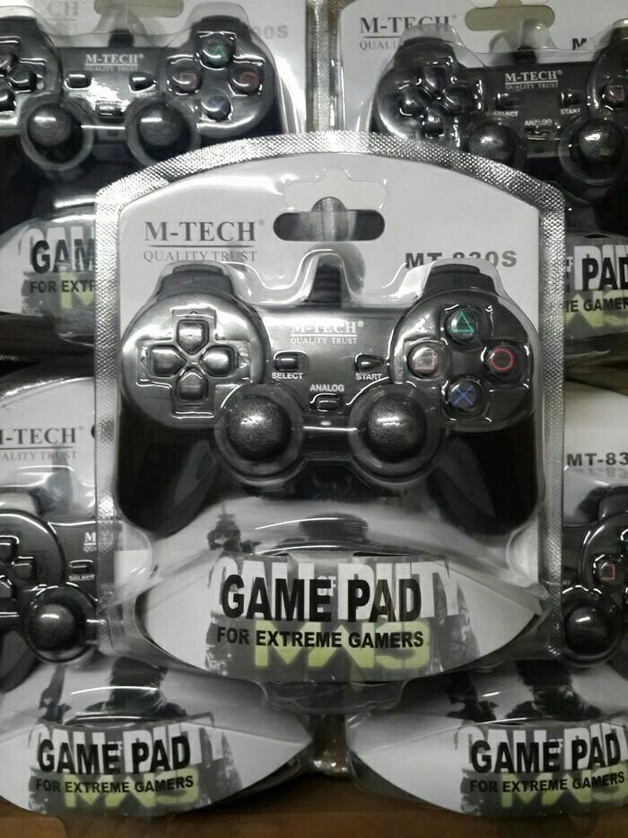 harga Gamepad Single Getar Usb M-tech Tokopedia.com