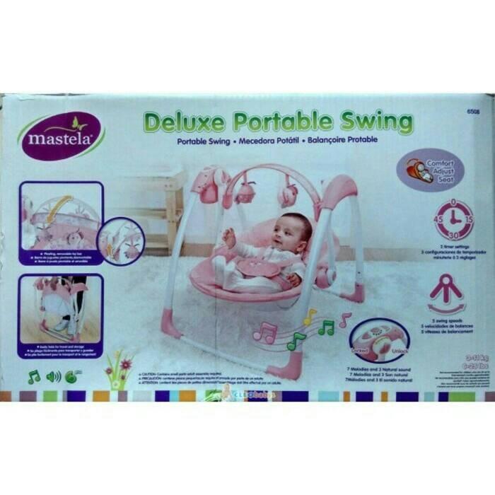 new mastela portable swing sku#17204
