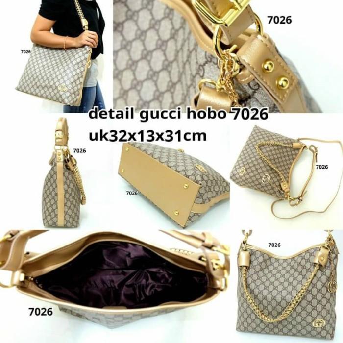 Jual tas batam kawe branded Gucci Hobo 7026 - ChrystalEShop  003d4765e0
