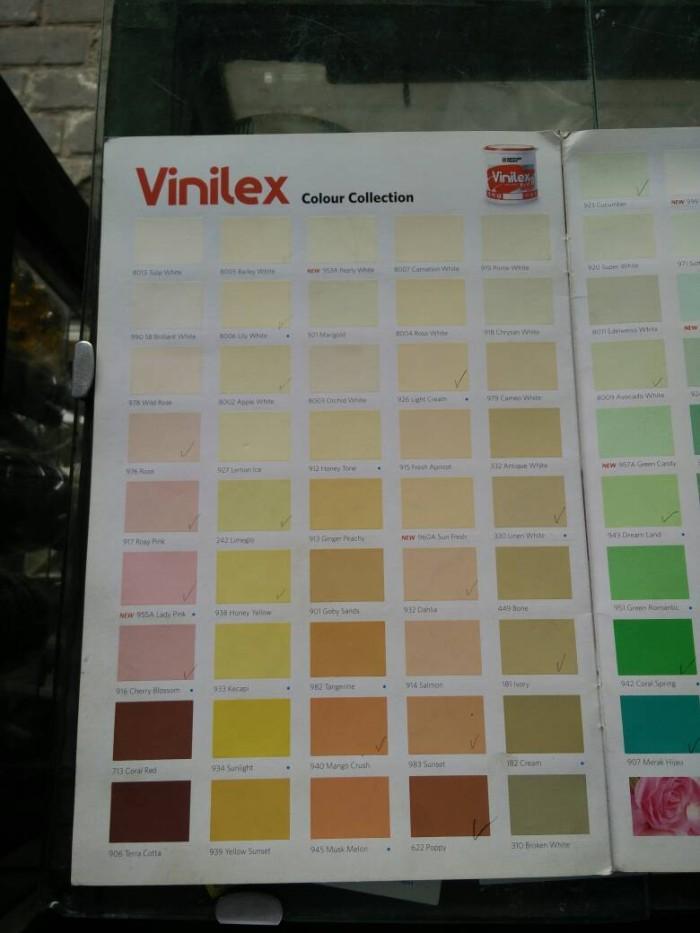 Jual Tersedia beragam warna  Cat  Tembok  Vinilex 5kg