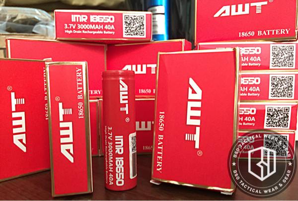 harga Battery awt vapo batre 18650 3.7v 40a red best seller best quality Tokopedia.com