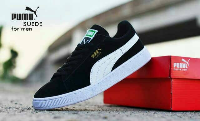 Jual sepatu running pria puma suede casual sport sneakers cek harga ... e547189585